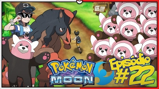 Stufful  - (Pokémon) - POKÉMON MOON #22: EVOLUÇÃO ACONTECERAM E O DESAFIO DOS 8 STUFFUL