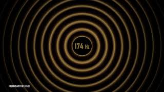 174 Hz Solfeggio Soundscapes   Heal Emotional & Physical Pain   Healing Music
