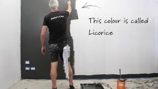Porters Paints :: HOW TO CREATE A CHALKBOARD WALL
