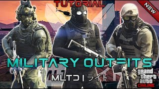 *NEW* TOP 3 MILITARY OUTFITS | DOOMSDAY HEIST 1.42 | GTA Online | NOT MODDED