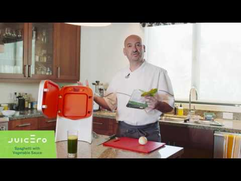 Veggie Pasta Sauce with Juicero