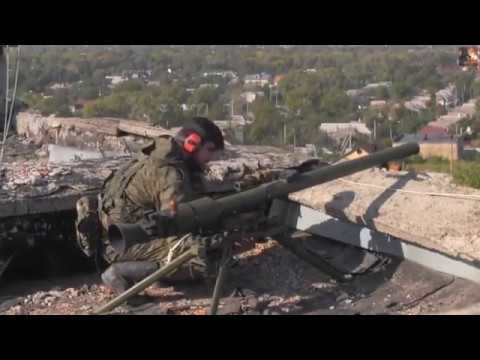 War in Ukraine  Pro Russian Rebels In Heavy Combat Action During Clashes With Ukrainian Army
