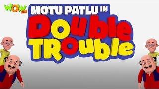 Motu Patlu Cartoons In Hindi |  Animated Movie | Motu Patlu In Double Trouble | Wow Kidz
