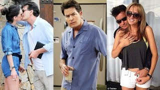 Girls Charlie Sheen Dated - (Two and a Half Men)