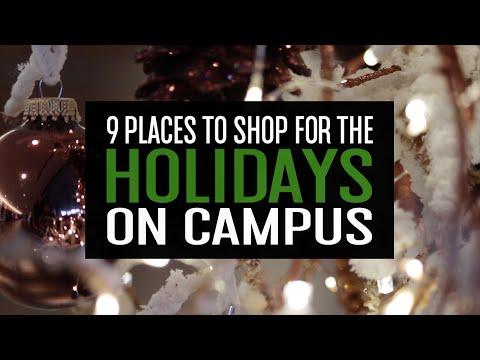 Holiday Shopping Options at Michigan State University