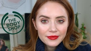 Testing Out Makeup From The Body Shop | GRWM