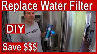 How to Replace a GE Cafe Refrigerator RPWFE Water Filter