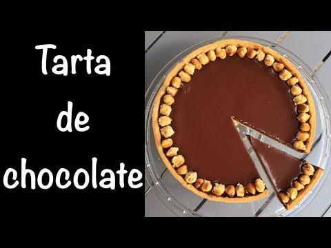 Deliciosa tarta de chocolate - Receta facilísima