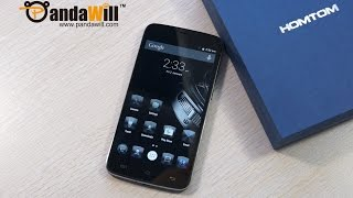 HOMTOM HT6 Smartphone With 6250mAh Battery Hands On