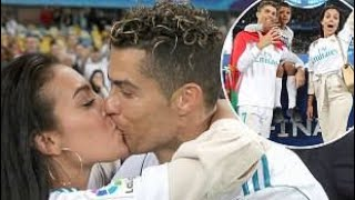 OMG Cristiano Ronaldo Kiss His Girlfriend GeorginaRodriguez Epic  Video Must Watch ❤