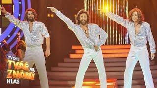"""Roman Vojtek jako Bee Gees - """"Stayin' Alive""""   Tvoje tvář má známý hlas"""