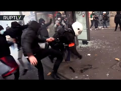 Anti-security bill demo | Protests turn increasingly violent as chaos hits Paris