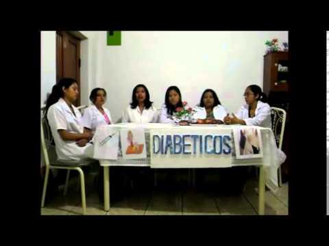 Manchas en el pie diabético
