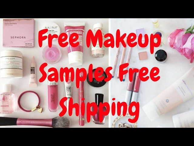 Get Free Makeup Samples With Shipping