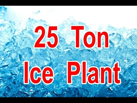 25 Ton Ice Block Plant