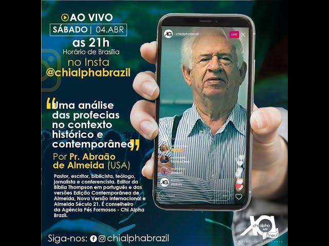 Culto Universitário Nacional com o Pr. Abraão de Almeida (04/04/2020) – Chi Alpha Brasil