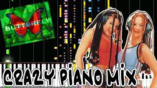 Crazy Piano! BUTTERFLY [Smile DK] Dance Dance Revolution