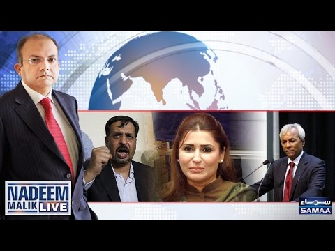 India Ki Pakistan Ko Dhamki | Nadeem Malik Live | SAMAA TV |11 April 2017
