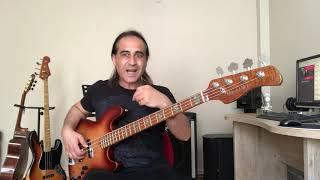 Emre Altuğ | Aşk-ı Kıyamet | Bas Gitar Şarkı Analizi (Bass Cover)