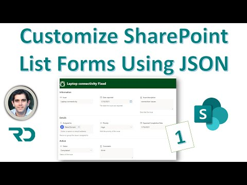Customize SharePoint List Forms using JSON Formatting (1)