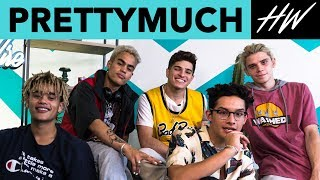 PRETTYMUCH Shares Their PERFECT Summer Playlist!   Hollywire
