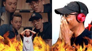 NO WAY!   Logic   Homicide Ft. Eminem   Reaction