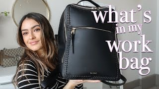 Whats In My Work Bag + Review Of Calpak Backpack