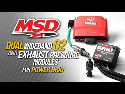 MSD Dual Wide Band 02 Module for Power Grid Ignition