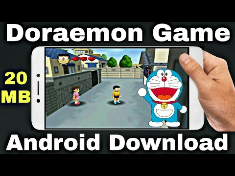 How to download doraemon android game   doraemon android game gameplay