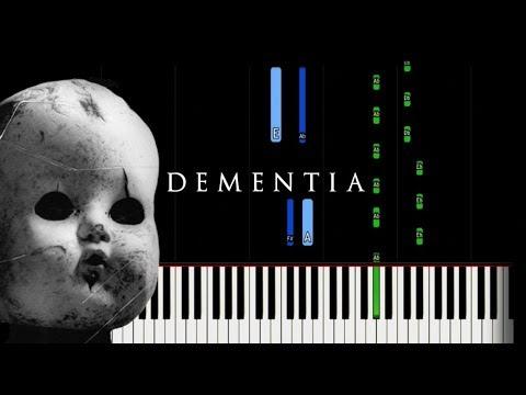 Dark Piano - Dementia   Synthesia Tutorial