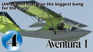 Aventura Amphibian - 12 Ultralight Aircraft that give the biggest bang for the buck!