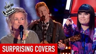 The Voice | SURPRISING COVERS in The Blind Auditions