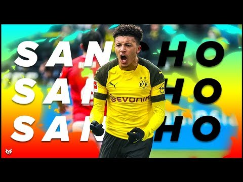 Jadon Sancho - INSANE Skills, Goals, Assists - 2018/19