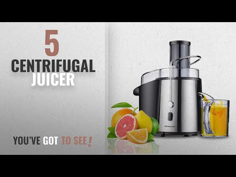 , Homeleader Juicer Juice Extractor Wide Mouth Centrifugal Juicer,2 Speed Juicer Machine for Fruits and Vegetable,Stainless Steel,700 Watt