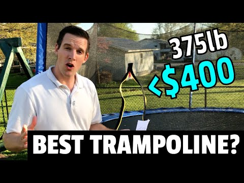 BEST TRAMPOLINE TO BUY on AMAZON!? | 2020 SONGMICS Trampoline Review
