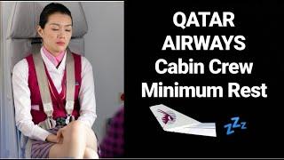 Qatar Airways Cabin Crew Minimum Rest - How bad was that for me!?
