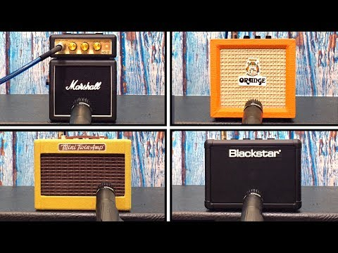 Micro Amp Shootout - Marshall VS Fender VS Orange VS Blackstar