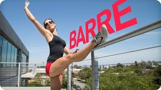 Lower Body BARRE WORKOUT for SCULPTED LEGS | Autumn Fitness by Autumn Calabrese