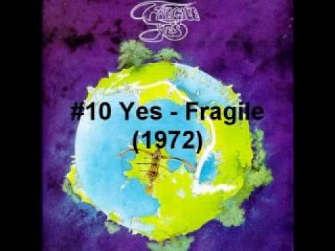 Top 20 Progressive Rock albums