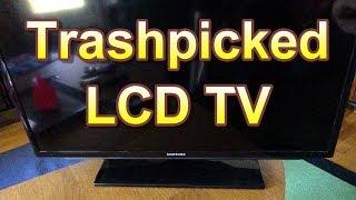 Trashpicked Samsung LCD TV Repair?