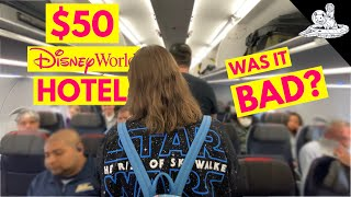 We Cheaped Out & Booked a $50 Disney World Hotel Room.. Was it a Disaster?