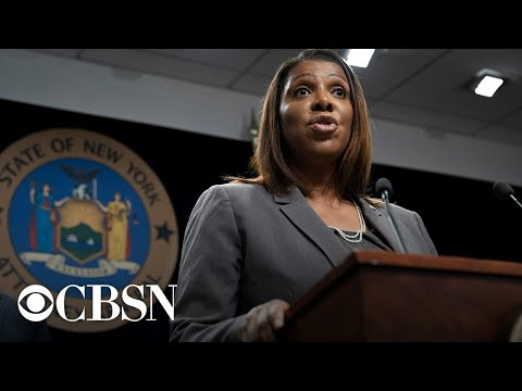 Watch live: New York AG Letitia James seeks to shut down NRA in lawsuit alleging financial crimes