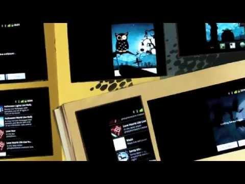 Video of Halloween Live Wallpaper world