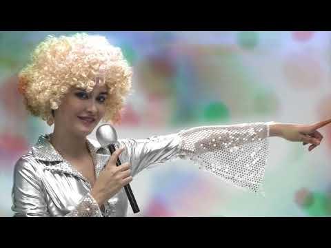 Disfraz CHICA DISCO color plateado para mujer