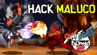 HACK MALUCO DE STREET FIGHTER ZERO 2 ALPHA [DOWNLOAD]