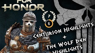 For Honor: Rep 7 Centurion Gameplay + Tournament Highlights