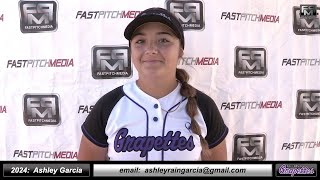 2024 Ashley Garcia Middle Infielder and First Base Softball Skills Video - Ca Grapettes McNair
