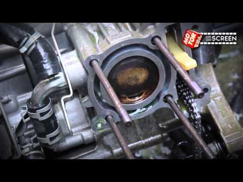 Video Tes Simulasi Banjir Motor Yamaha Xeon RC Berikut komponennya