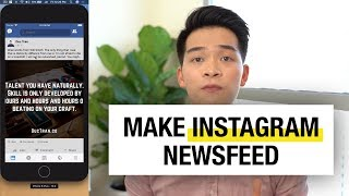 Make Instagram Newsfeed in iOS with Swift Tutorial