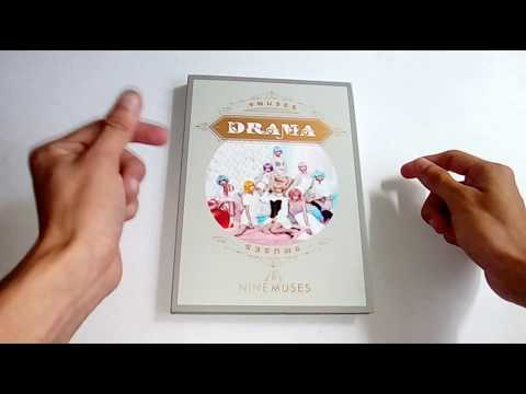 Download Unboxing - Nine Muses - Drama Mini Album HD Mp4 3GP Video and MP3